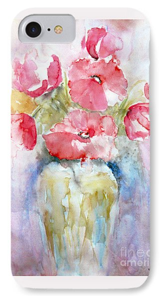 IPhone Case featuring the painting Poppies by Jasna Dragun