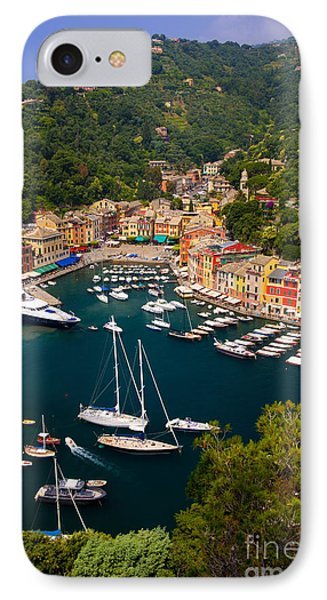 Portofino IPhone Case by Brian Jannsen