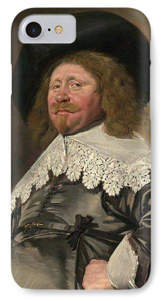 Portrait Of A Man IPhone Case by Frans Hals