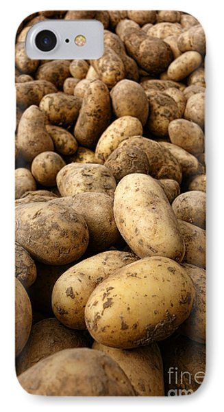 Potatoes IPhone Case by Olivier Le Queinec