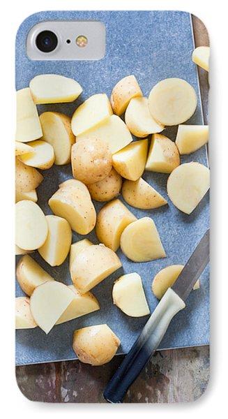 Potatoes Phone Case by Tom Gowanlock