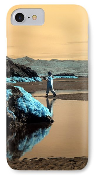 IPhone Case featuring the photograph Quiet Beach by Rebecca Parker