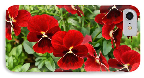 Red IPhone Case by Ronda Broatch