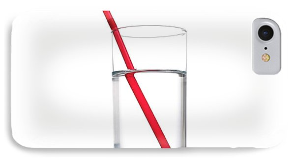 Refraction In A Glass Of Water IPhone Case