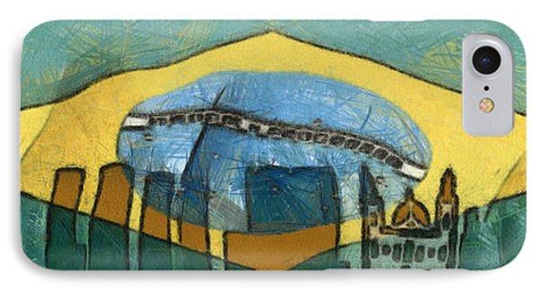 Rio De Janeiro Skyline IPhone Case by Michal Boubin
