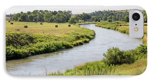River In The Nebraska Sandhills IPhone Case