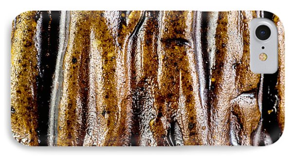 Rough Abstract Ceramic Surface Phone Case by Kerstin Ivarsson