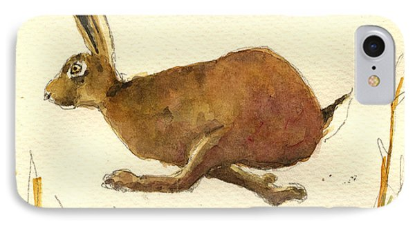 Running Hare IPhone Case
