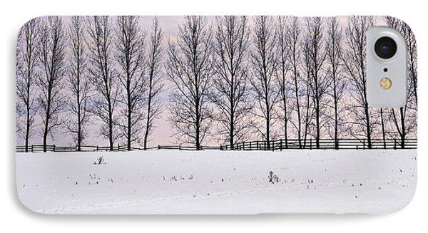 Rural Winter Landscape IPhone Case by Elena Elisseeva