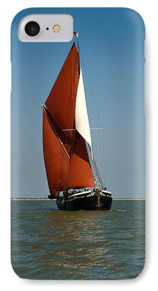 Sailing Barge Phone Case by Gary Eason