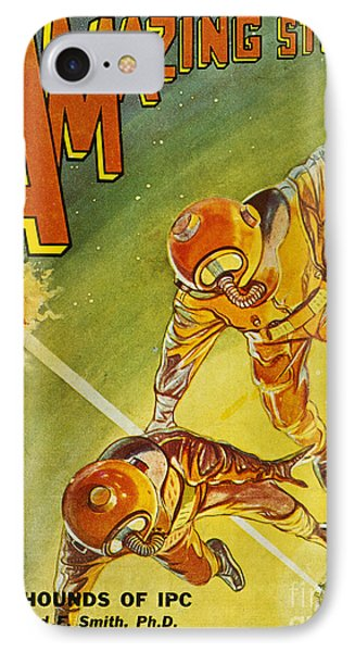 Sci-fi Magazine Cover 1931 Phone Case by Granger