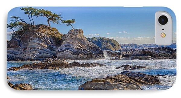 IPhone Case featuring the photograph Sea Side by Tad Kanazaki