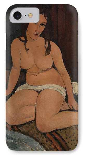 Seated Nude Phone Case by Amedeo Modigliani