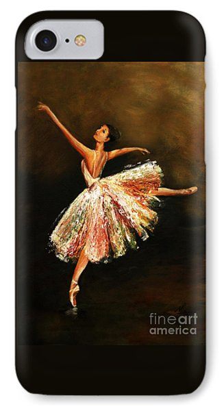 IPhone Case featuring the painting Second Arabesque by Nancy Bradley