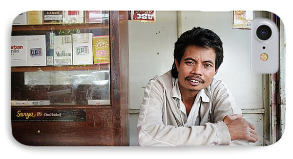 Shopkeeper With Leprosy IPhone Case