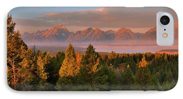 Signal Mountain Sunrise IPhone Case