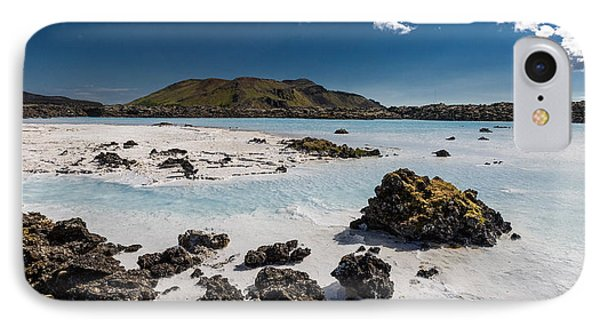 Silica Deposits In Water By The IPhone Case by Panoramic Images
