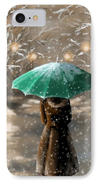 Snow IPhone Case by Veronica Minozzi