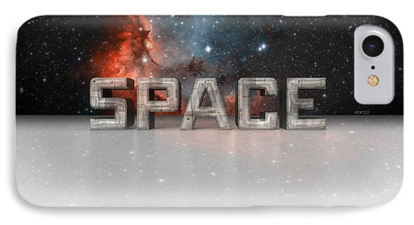 Space Phone Case by Phil Perkins