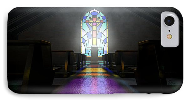 Stained Glass Window Church IPhone Case
