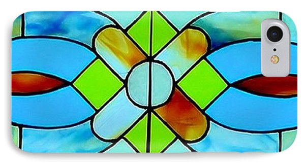 Stained Glass Window Phone Case by Janette Boyd