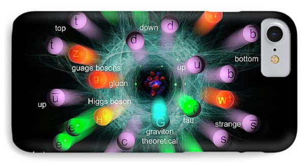 Subatomic Particles  IPhone Case by Carol & Mike Werner