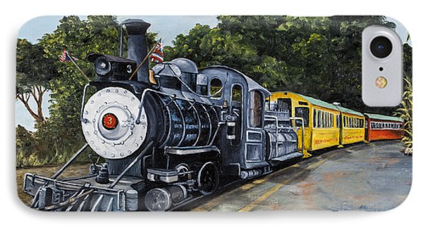 IPhone Case featuring the painting Sugar Cane Train by Darice Machel McGuire