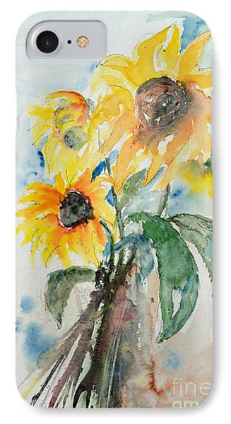 Sunflowers Phone Case by Ismeta Gruenwald