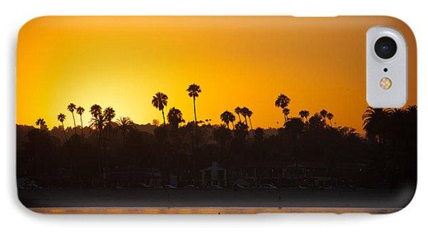 Sunset Santa Barbara Phone Case by Ralf Kaiser