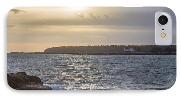 IPhone Case featuring the photograph Sunset Schoodic Peninsula by Trace Kittrell