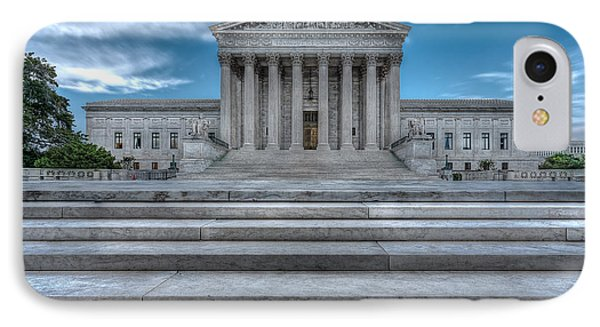 IPhone Case featuring the photograph Supreme Court by Peter Lakomy