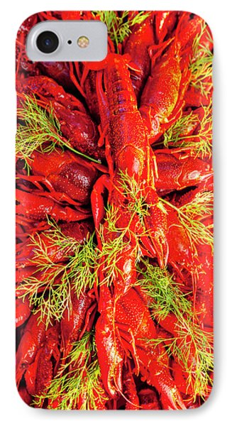 Sweden - Crayfish With Dill Eaten IPhone Case