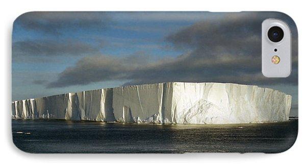 Tabular Iceberg Antarctica Phone Case by Carole-Anne Fooks