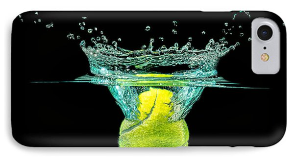 Tennis Ball IPhone Case by Peter Lakomy