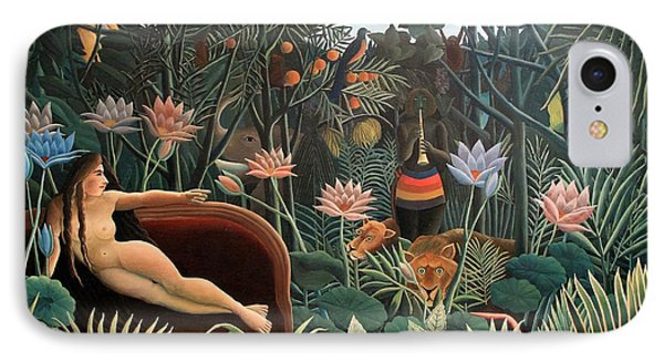 The Dream IPhone Case by Henri Rousseau