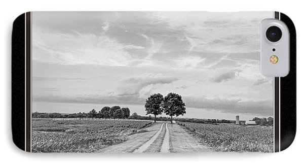 The End Of The Road IPhone Case by Charles Feagans