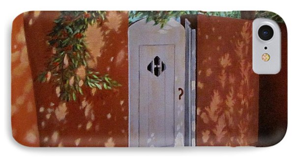 The Garden Gate IPhone Case by Gene Gregory