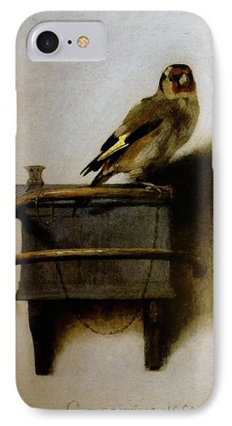 The Goldfinch IPhone Case by Carel Fabritius