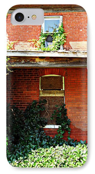 IPhone Case featuring the photograph The Perfect Creepy House by Cyryn Fyrcyd
