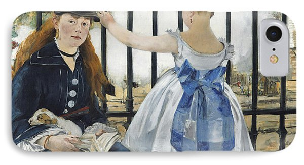 The Railway IPhone Case by Edouard Manet
