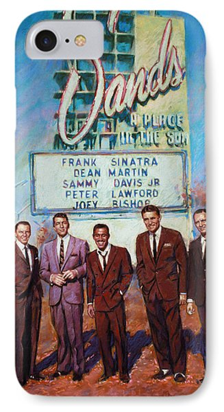 The Rat Pack IPhone 7 Case by Viola El