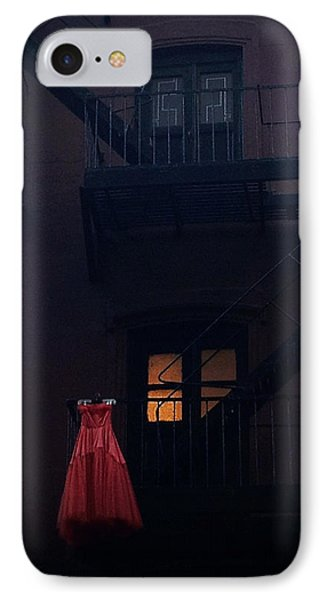 The Red Gown IPhone Case by Natasha Marco