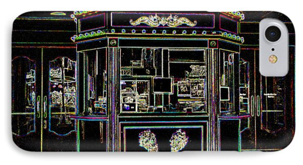 The Tivoli In Neon IPhone Case by Kelly Awad