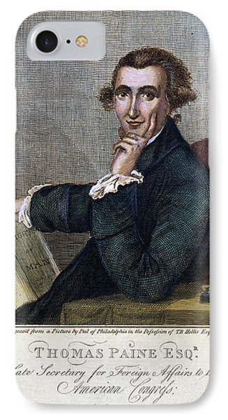 Thomas Paine (1737-1809) Phone Case by Granger