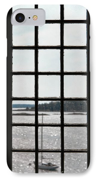 Through An Old Window IPhone Case by Olivier Le Queinec