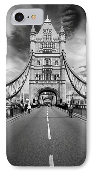IPhone Case featuring the photograph Tower Bridge In London by Chevy Fleet
