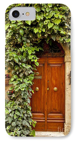 Tuscan Door IPhone Case by Brian Jannsen