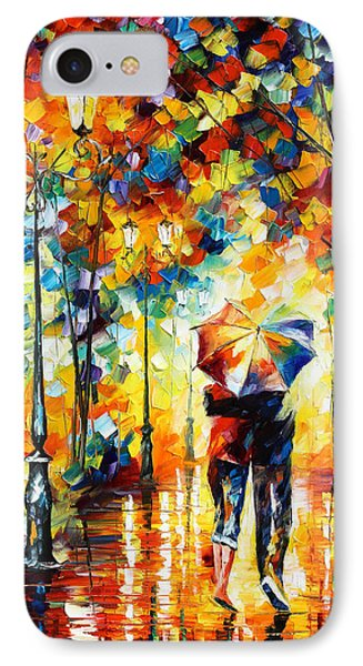 Under One Umbrella Phone Case by Leonid Afremov