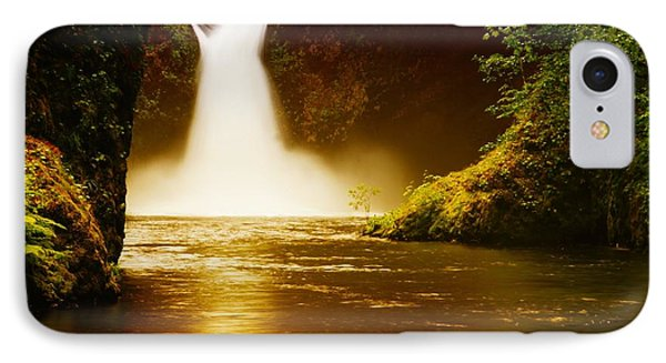 Upper Punch Bowl Falls Phone Case by Jeff Swan
