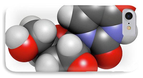 Uridine Nucleoside Molecule IPhone Case